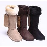 牛筋底雪地靴